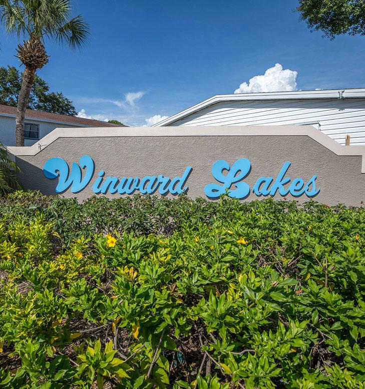 Winward Lakes Entrance