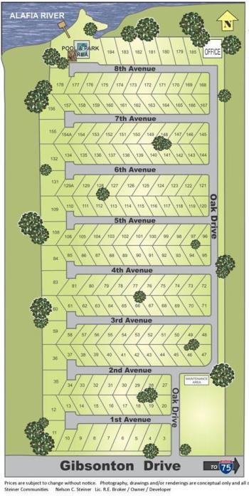 Riverwalk Coomunity Map